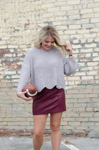Trend Setter Cropped Sweater