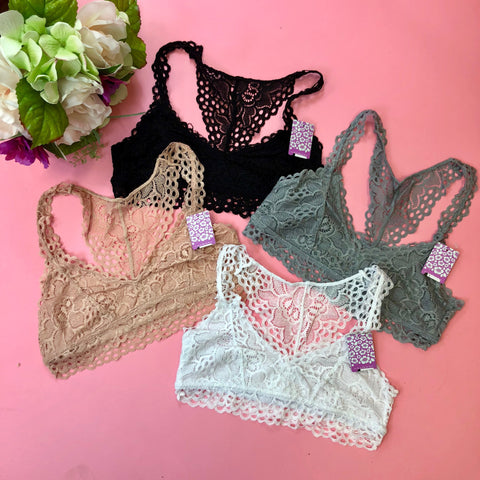 Lucky in Lace Bralette