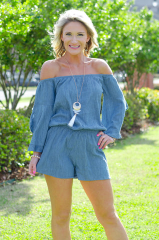 Moving Through My Mind Romper