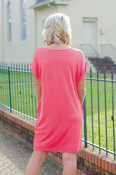 Embrace the Day T Shirt Dress