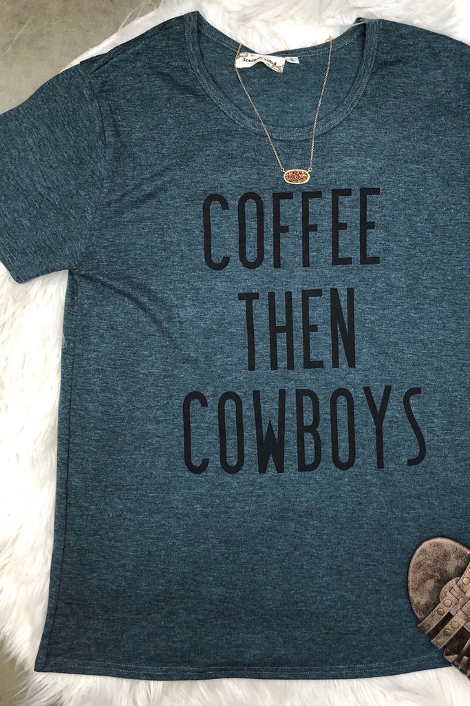 Coffee & Cowboys Graphic Tee