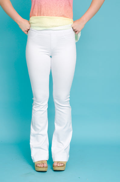 Movin' & Groovin' Jeans White