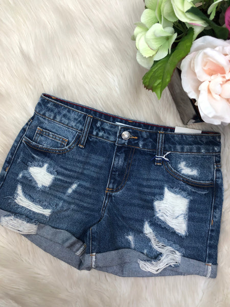 Sassy Summer Denim Shorts