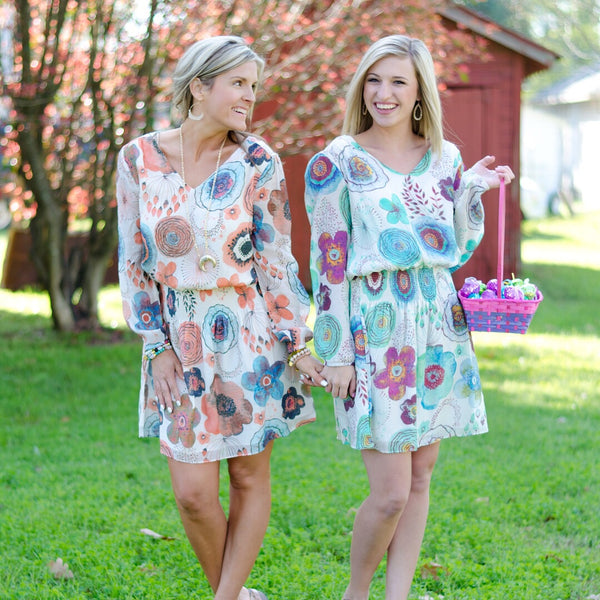 A Step Forward Floral Dress