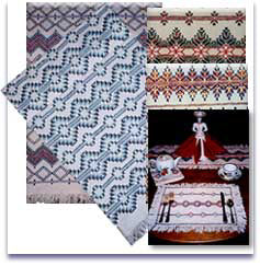 Nettie's Needleworks - Swedish Weaving Patterns and Monk's Cloth