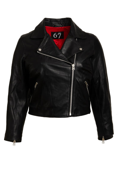SAMPLE SALE: Mid-Crop Leather Jackets