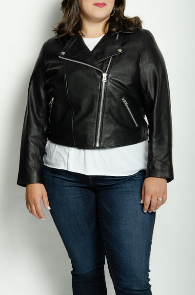 SALE: Lifetime Leather Jacket (Mid-Crop)