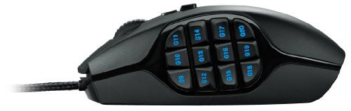 Spectra FPS - Logitech G600 MMO Gaming Mouse, Black