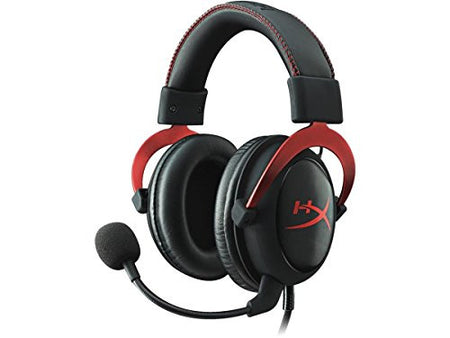 Spectra FPS - HyperX Cloud II Gaming Headset for PC & PS4 - Red (KHX-HSCP-RD)