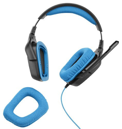 Spectra FPS - LOGITECH G430 DTS Headphone: X and Dolby 7.1 Surround Sound Gaming Headset (981-000536)