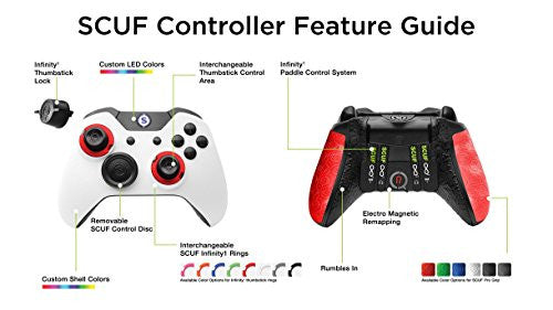 Spectra FPS - SCUF Infinity1 Red Controller for Xbox
