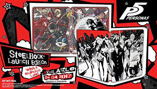 Spectra FPS - Persona 5 - SteelBook Edition - PlayStation 4