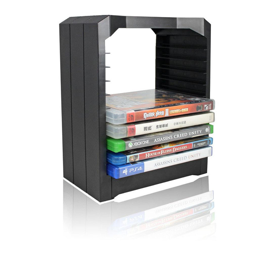 sony official games tower and charging station for ps4. spectra fps - storage multi-functional universal games \u0026 blu ray discs stand sony official tower and charging station for ps4