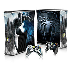 Spectra FPS - Xbox 360 Slim Console Skin - Spiderman Collection