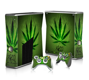 Spectra FPS - Xbox 360 Slim Console Skin - Weed