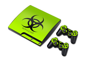 PS3 Slim Console Skin - Biohazard
