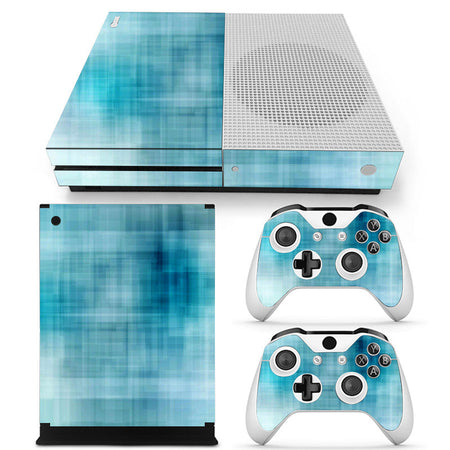 Spectra FPS - Xbox One S Console Skin - Blue Abstract
