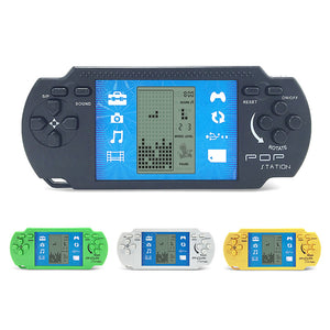 Classic Retro Handheld Video Game Console - 23 Built-in Games