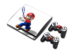 PS3 Slim Console Skin - Mario Collection