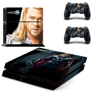 PS4 Console Skin - Thor