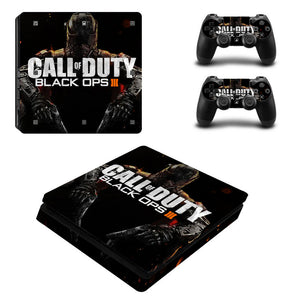 PS4 Slim Console Skin - Call of Duty Black Ops 3