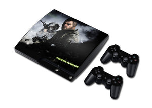 PS3 Slim Console Skin - Call of Duty Collection