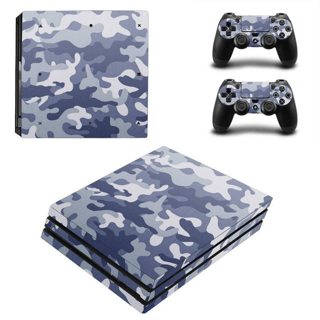 PS4 Console Skin - Camouflage Design Collection