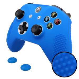 2 in 1 for Microsoft Xbox One S Rubber Gamepad Skin + Grips