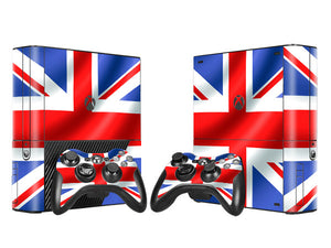 Xbox 360 E Console Skin - British Flag (Union Jack) Collection