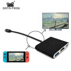 HDMI Type C Adapter For Nintendo Switch
