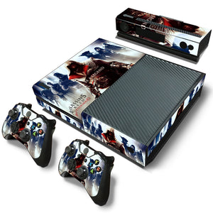 Xbox One Console Skin - Assassins Creed Brotherhood