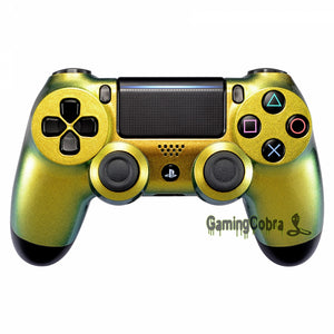 PS4 Pro & Slim Controller Shell - Gold to Green Chameleon (JDM-040)