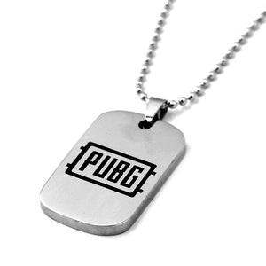 Playerunknown's Battlegrounds (PUBG) - Stainless Steel KeyChain or Necklace