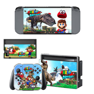 Nintendo Switch Skin - Super Mario Odyssey Collection