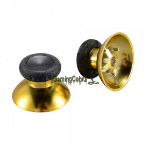 2Pcs Chrome Analog Thumbsticks for Xbox One