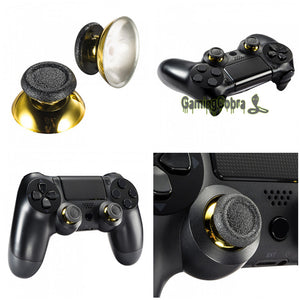 2Pcs Chrome Analog Replacement Thumbsticks
