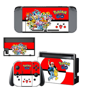 Nintendo Switch Skin - Pokemon Go Collection