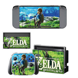 Nintendo Switch Skin - The Legend of Zelda Breath of The Wild Collection