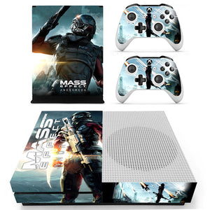Xbox One S Console Skin - Mass Effect Andromeda Collection
