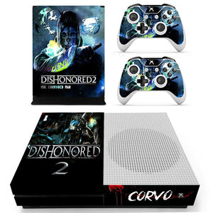 Xbox One S Console Skin - Dishonored 2 Collection