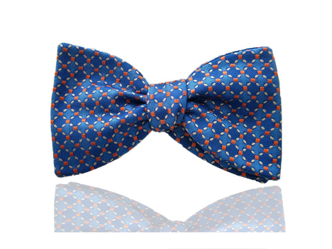 Mens Royal Blue Self Tie, Pretied Bow Tie