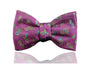 Pink Paisley Bow Tie