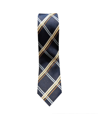 Navy Blue Mens Necktie