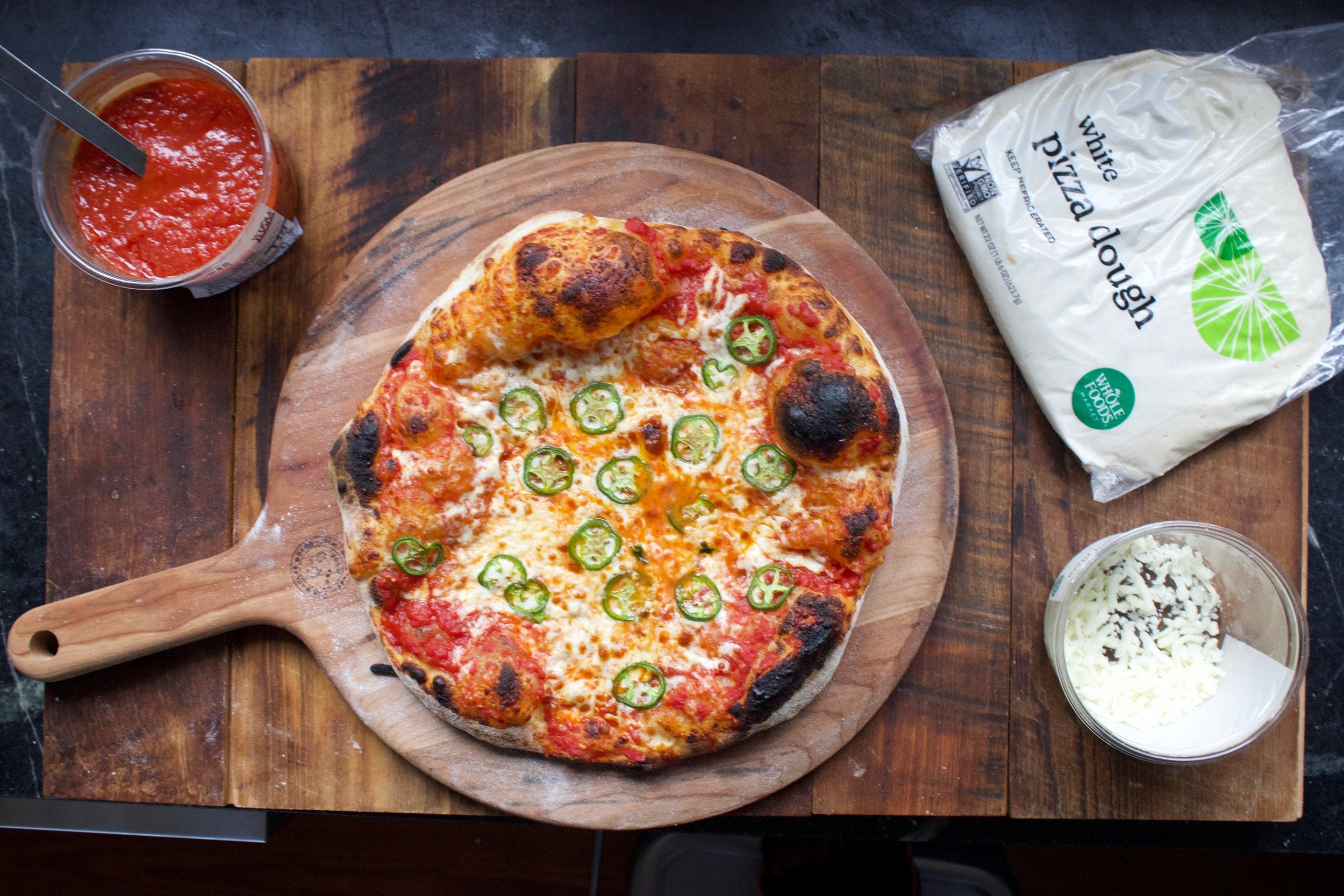 Whole Foods Pizza Dough Delivers Baking Steel