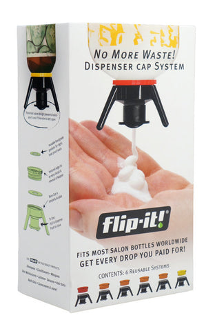 Flip-It! Beauty, Salon & Stylist Deluxe Bottle Emptying Kit 1