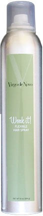 Virgo de Novo Work It! Flexible Hair Spray 10oz