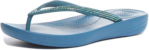 Fitflop Women's Iqushion Sparkle Flip Flops