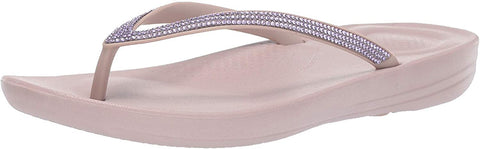 FitFlop Women's Iqushion Sparkle Ergonomic Flip-Flops