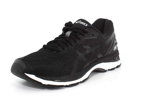ASICS Men's Fitness/Cross-Training Trail Running Shoe, Black/White/Carbon, 12.5 4E US