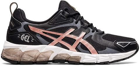 ASICS Women's Gel-Quantum 180 Shoes, 5M, Black/Rose Gold
